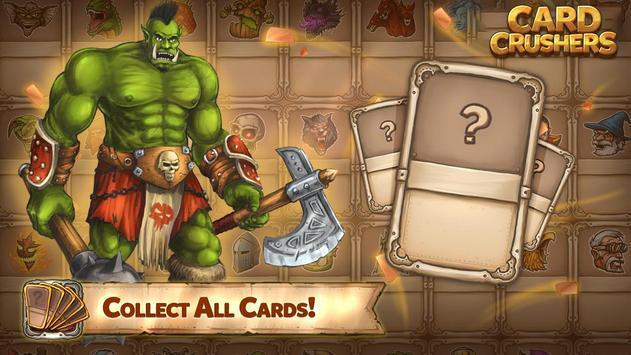 Card Crushers Plakat