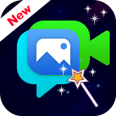 Magical Video Editor with Music & Photos icon