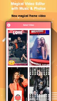 Magical Video Editor with Music & Photos poster