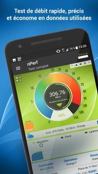 Speed test - Débit Internet & Test wi-fi, 3G, 4G Affiche