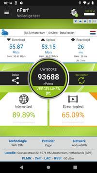Snelheidstest 3G, 4G, 5G, WiFi & dekking kaart screenshot 3