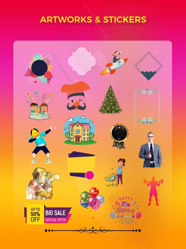 flyer maker poster maker graphic designer for android apk download