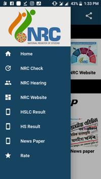 NRC Hearing Check Assam NRC app poster