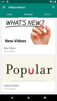 تنزيل الفيديو Neroo تصوير الشاشة 5