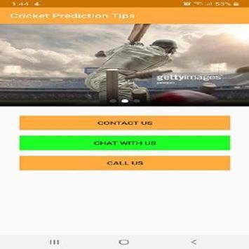 Cricket Prediction Guru screenshot 1