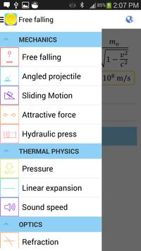 Physics Formulas Free screenshot 2