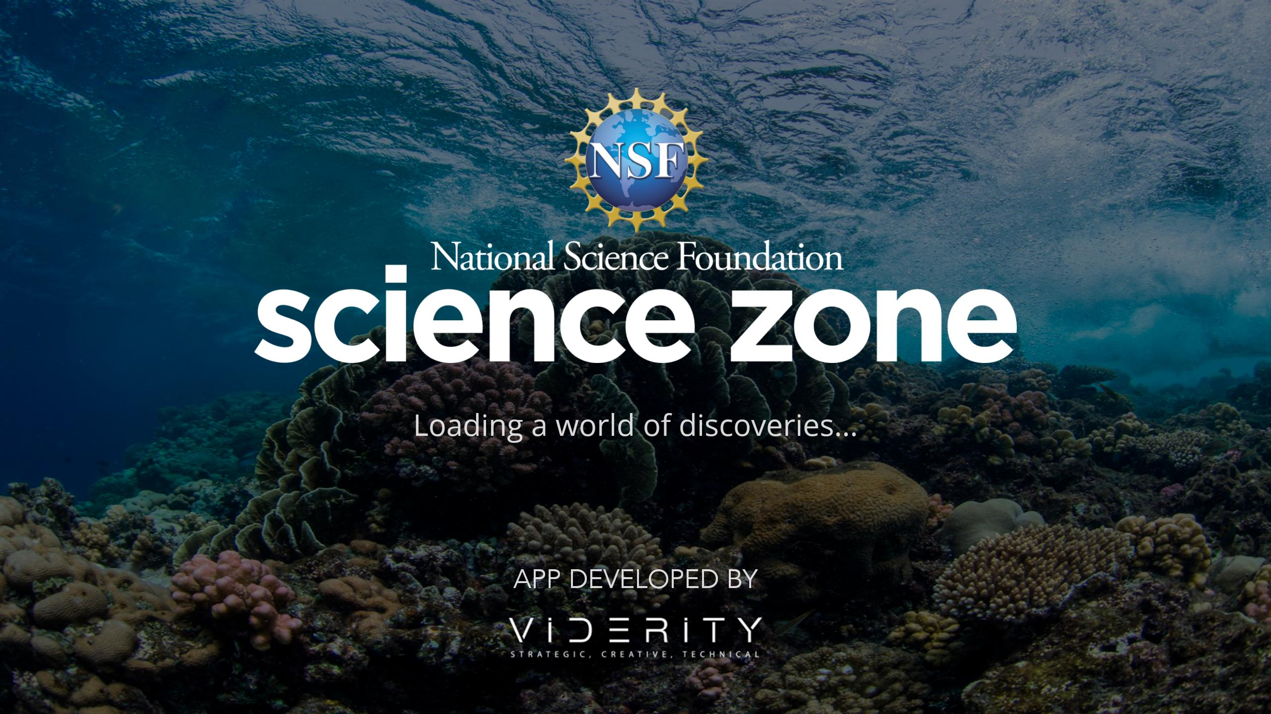NSF Science Zone poster
