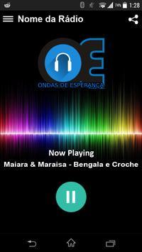 Web Rádio Ondas de Esperança screenshot 1