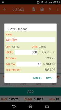 Calculator For Wood screenshot 5