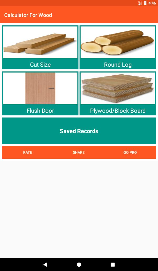 Calculator For Wood for Android - APK Download