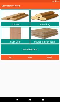 Calculator For Wood screenshot 7