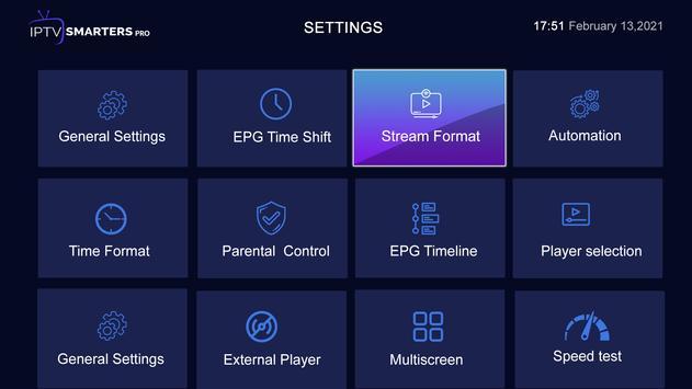 IPTV Smarters Pro تصوير الشاشة 3