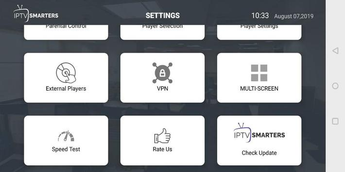 IPTV Smarters Pro captura de pantalla 4