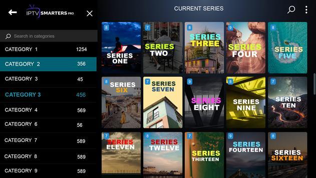 IPTV Smarters Pro تصوير الشاشة 6