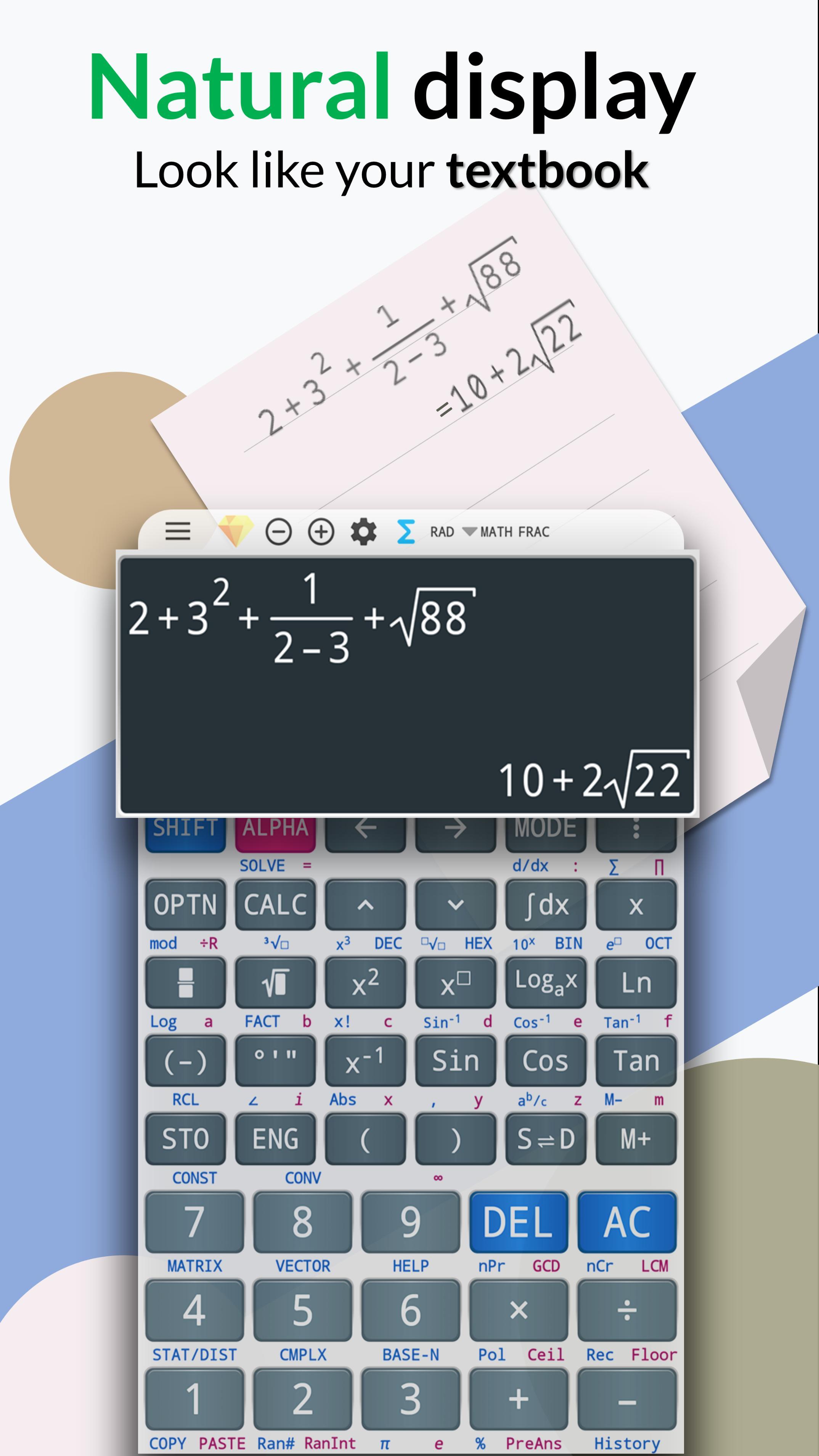 Free Engineering Calculator 991 Es Plus