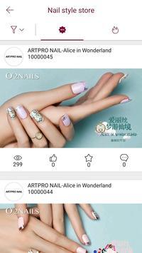 O2NAILS - Nail Art Fashion screenshot 1