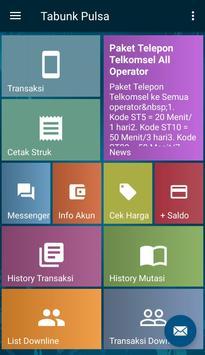 Tabunk Pulsa screenshot 1