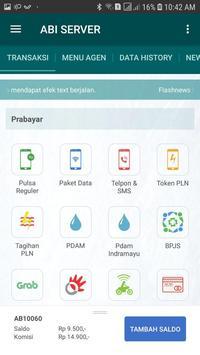 ABI SERVER screenshot 2