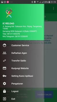 KIOS IC-isi pulsa online screenshot 1