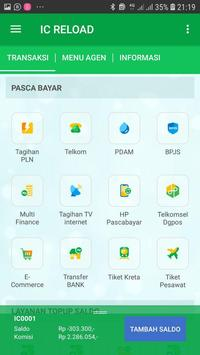 KIOS IC-isi pulsa online screenshot 2