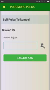 PODOMORO PULSA screenshot 1