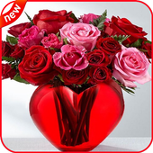 The most beautiful bouquet of roses icon