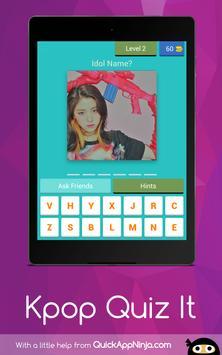 Kpop Idol Quiz : 2019 Guess screenshot 8
