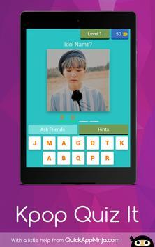 Kpop Idol Quiz : 2019 Guess screenshot 12