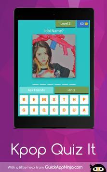 Kpop Idol Quiz : 2019 Guess screenshot 14