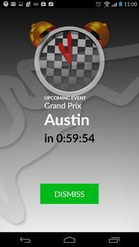 2018 Formula Calendar Alarm Widget screenshot 3