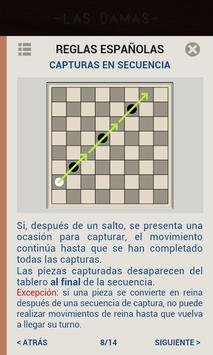 Damas, Juegos de mesa clásicos captura de pantalla 6