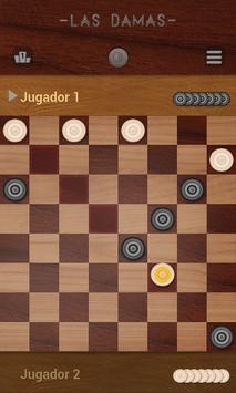 Damas, Juegos de mesa clásicos captura de pantalla 7