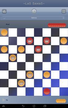 Damas, Juegos de mesa clásicos captura de pantalla 9