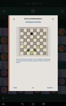 Damas, Juegos de mesa clásicos captura de pantalla 14