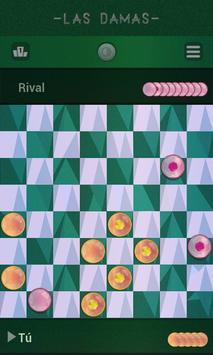 Damas, Juegos de mesa clásicos captura de pantalla 3