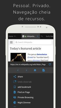 Surfy Browser Cartaz