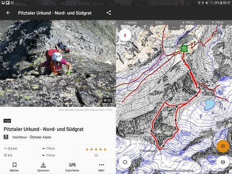 alpenvereinaktiv スクリーンショット 10