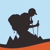 Természetjáró, a túratervező ícone