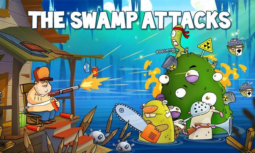 Cari Tahu, Swamp Attack  - APK Download Game Android Terbaru