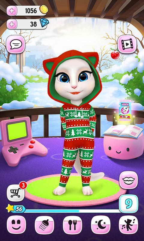 download talking tom and angela free