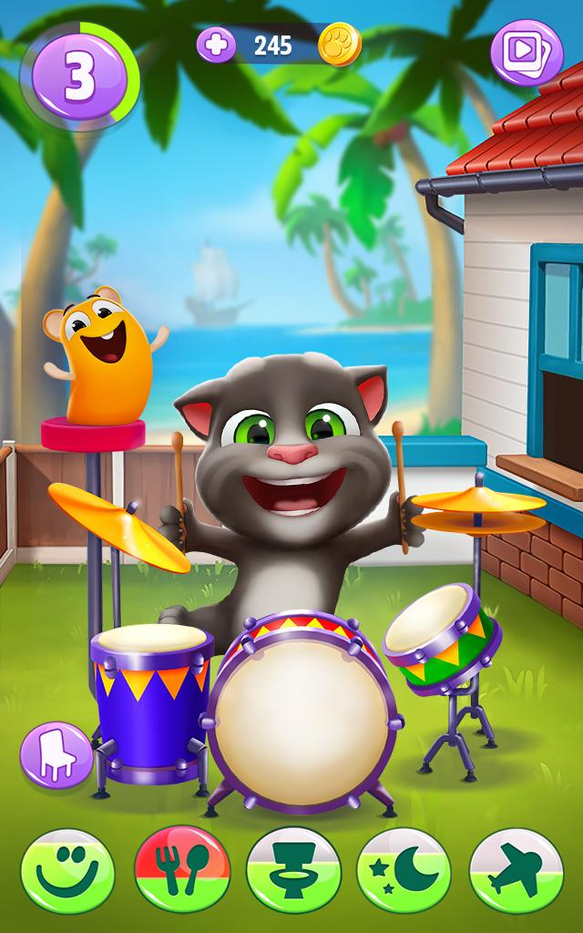 Mi Talking Tom 2 For Android Apk Download