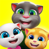My Talking Tom Friends biểu tượng