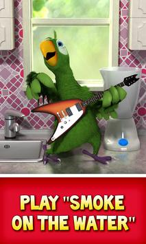 Talking Pierre the Parrot poster