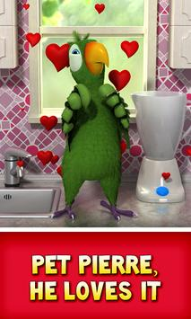 Talking Pierre the Parrot screenshot 4