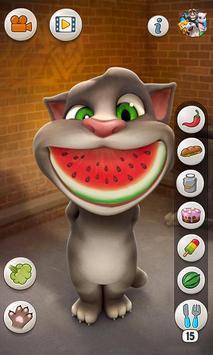 Talking Tom Cat स्क्रीनशॉट 1