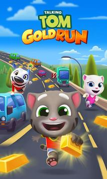 5 Schermata Talking Tom: Corsa all'oro
