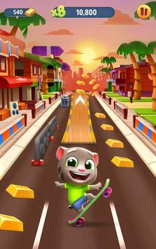 8 Schermata Talking Tom: Corsa all'oro