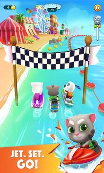 Talking Tom Jetski 2 पोस्टर