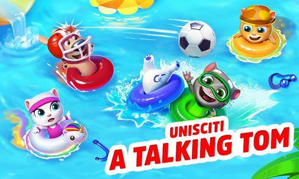 Poster Talking Tom Pool
