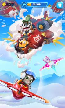 Talking Tom Sky Run poster